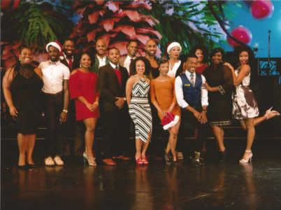 After Midnight Inaugural Cast Christmas