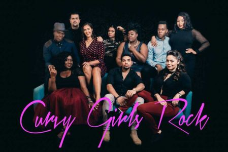 The Cast of Curvy Girls Rock Web Series